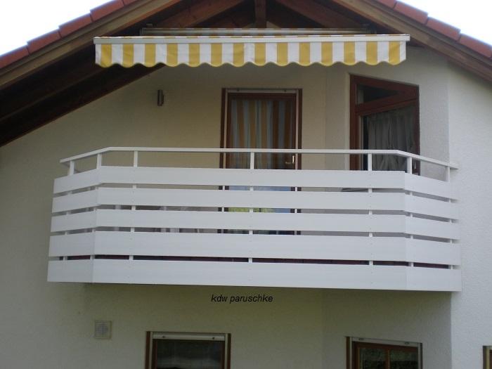 Häufig Balkonbretter Robust 15 cm Breite in Weiß, aus Kunststoff BO87