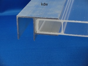 eck profil f r 16 mm stegplatten. Black Bedroom Furniture Sets. Home Design Ideas