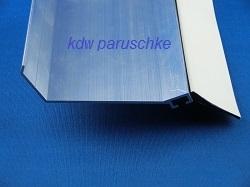 aluminium wandanschlu profil 65er mit dichtung. Black Bedroom Furniture Sets. Home Design Ideas